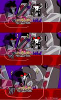 Starscream And Megatron by TFAwasp