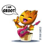 I am Groot!!! by vancamelot