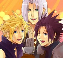 FF7- Singing...omg by meru-chan
