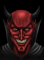 Face of the Devil by AndrewDobell