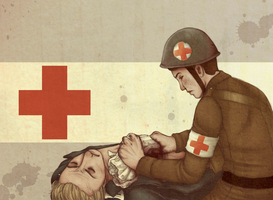 A Medic First by Frozen-lullaby