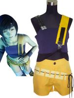 Final Fantasy VII Yuffie Kisaragi Cosplay Costume by morseedwina