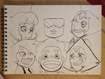 The New Crystal Gems by Monkey-Picker
