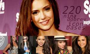 220 Nina dobrev (1) icon bases by SydneyWells