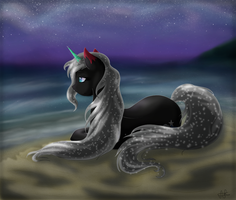 A Night on the Beach by ScarletsFeed