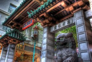 Chinatown entrance in San Fran by spudart