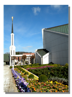 LDS Frankfurt Temple in Spring by WillFactorMedia