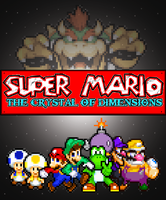 Super Mario: Crystal of Dimensions Poster by Rated-R4-Ryan