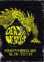 Dead Weather Concert Poster by XBlackFerretX