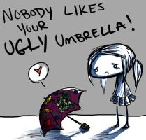Ugly Umbrella by KamikazeWalrus
