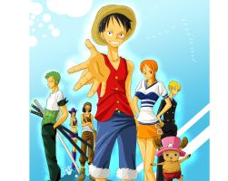 OP - Be my nakama by Sanogirl