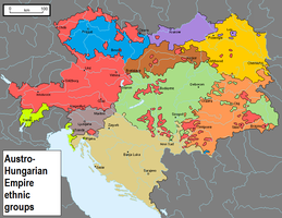 Ethnic groups of the Austro-Hungarian Empire by GiovanGMazzella