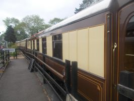 Pullman coaches in the sidings by FFDP-Neko
