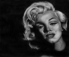 Marilyn Monroe by DirtyD41
