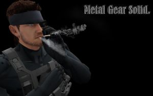 MGS 4 Snake (mmd) by 32Rabbit