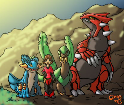 Pokemon Team by Gingy1380
