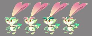 Rabbit Easter Colour by Vallylight