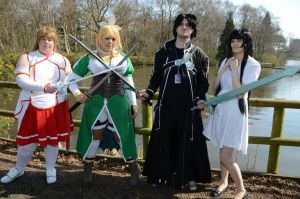 Sword Art Online Group by drawingdream