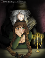 Comiss::.Undertaker n his Lady by Priss-BloodEmpress