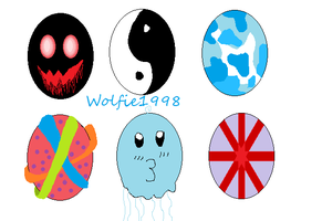 Egg Adopts by wolfie1998