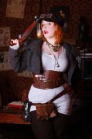 Steampunk shooting 2 by Glasmond