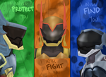 The Armored Three by KatieFitness