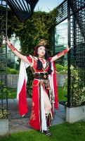 Diablo 3 Wizard Cosplay - Li-Ming by Seattle-Cosplay