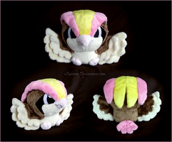 Pidgeot Pokedoll by xBrittneyJane