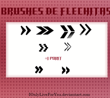 Brushes de Flechitas | Pixlr by IOnlyLiveForYou
