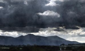 Galtee Mountains by lornamacdonald