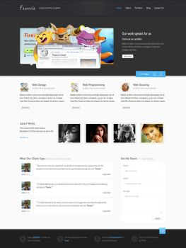 Francis - HTML5 CSS3 Template by ZERGEV