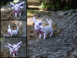Commission: Espeon by MouseAlchemist