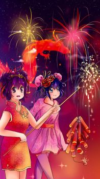 Happy Chinese New Year! by Flowerlet