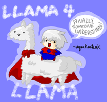 SuperNear: SUPER ALBINO LLAMAS by AquaKacheek