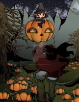 Off Head        halloween card 2012 by gaManka-studios