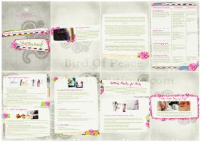 Healthy pregnancy Magazine by Bird-Of-Peace
