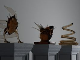 idols of glass 3D by nisfor