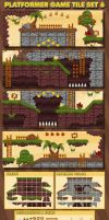 Dawn of the Jungle - Game Tileset by pzUH