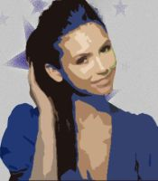 Elena Gilbert Popart by Foreststone