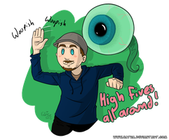 JackSepticEye - High Five! by Satha