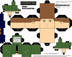 Cubeecraft - Dean - Supernatural by AnimeShark20
