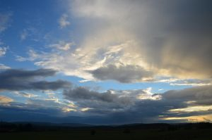 evening sky XIII by mimose-stock