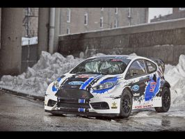 2013 Ford OlsbergsMSE Fiesta ST GRC Race Car by ThexRealxBanks