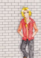 FMA: Ed in AU clothes by magoleth