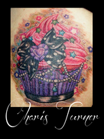 Cupcake Tattoo by Metacharis