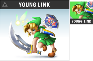 Smashified Fan Art - Young Link V2 by zelc-face