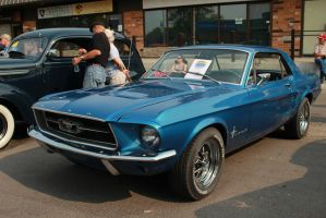 Metallic Mustang Coupe by KyleAndTheClassics