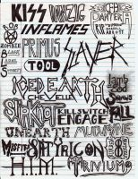 Another Old Band Collage by Thrashmetalhead9