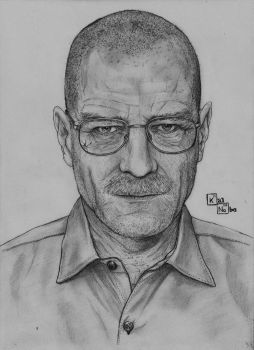 Walter White - Breaking Bad by kalnobe