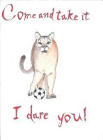 Soccer Cougar by MidnightsMisery